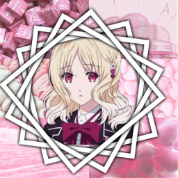 yui diaboliklovers pinkaesthetic animeaesthetic anime