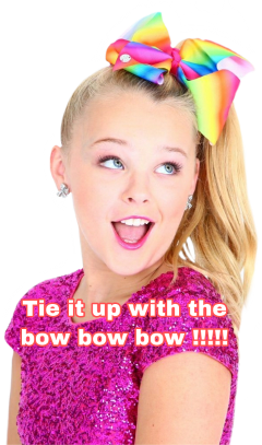 bows jojo siwa fun love
