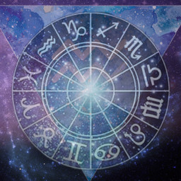 freetoedit aquarius zodiaccircle