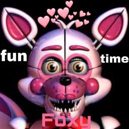 freetoedit funtimefoxy fnafsl fnafsisterlocation fnaf5