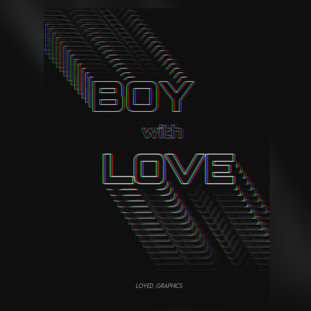 Boy with love 💖 Motion tool is the boss 😎 . . . #typography #poster #posterdesign #graphics #art #boywithluv #boywithlove #bts #motion #motiontool #madewithpicsart #myedit