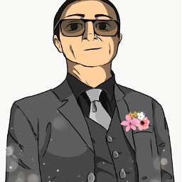 uncle happylatebirthday freelance adobeillustratordraw tuxedo