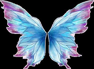 butterfly blue purple wings butterflywings freetoedit scwings