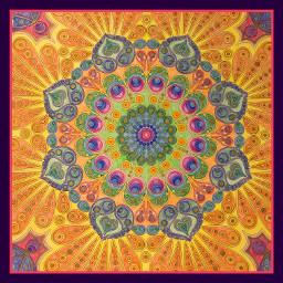 mandala zen colouringbook