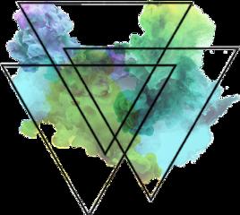 sccolorfulsmoke colorfulsmoke smoke triangles