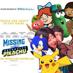 freetoedit missing pokémon detective pikachu