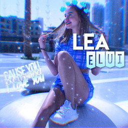 freetoedit leaelui blue