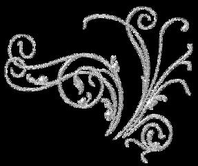 silverglitter glitter silver floralpattern floral scrapbooking freetoedit