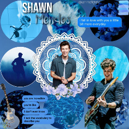 shawnmendes dallascontest1 mendesarmy mendes picsart edit blue bluedit celebrity sing guitar flowers blueflowers cute quote freetoedit