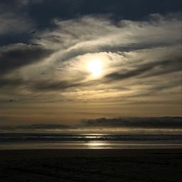 photography sky beach cloudy sunset