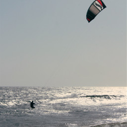 beachvibes wavescrashing windy kitesurfing lateafternoon freetoedit