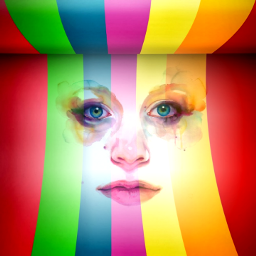 art myart colors woman fullcolor