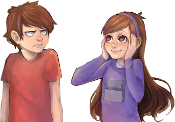 gravityfalls dipper mable newstyle dipperpines freetoedit
