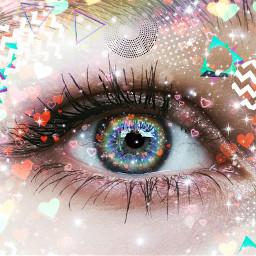 eyesrainbow freetoedit