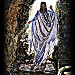 freetoedit heisrisen text jesus tomb