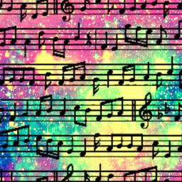 freetoedit music musicnotes patterns gliiter