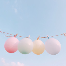 balloon party sky