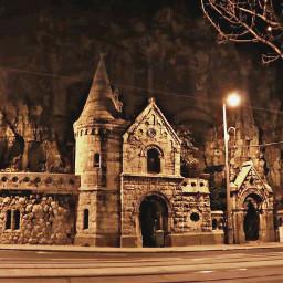 budapest architecture night hungary