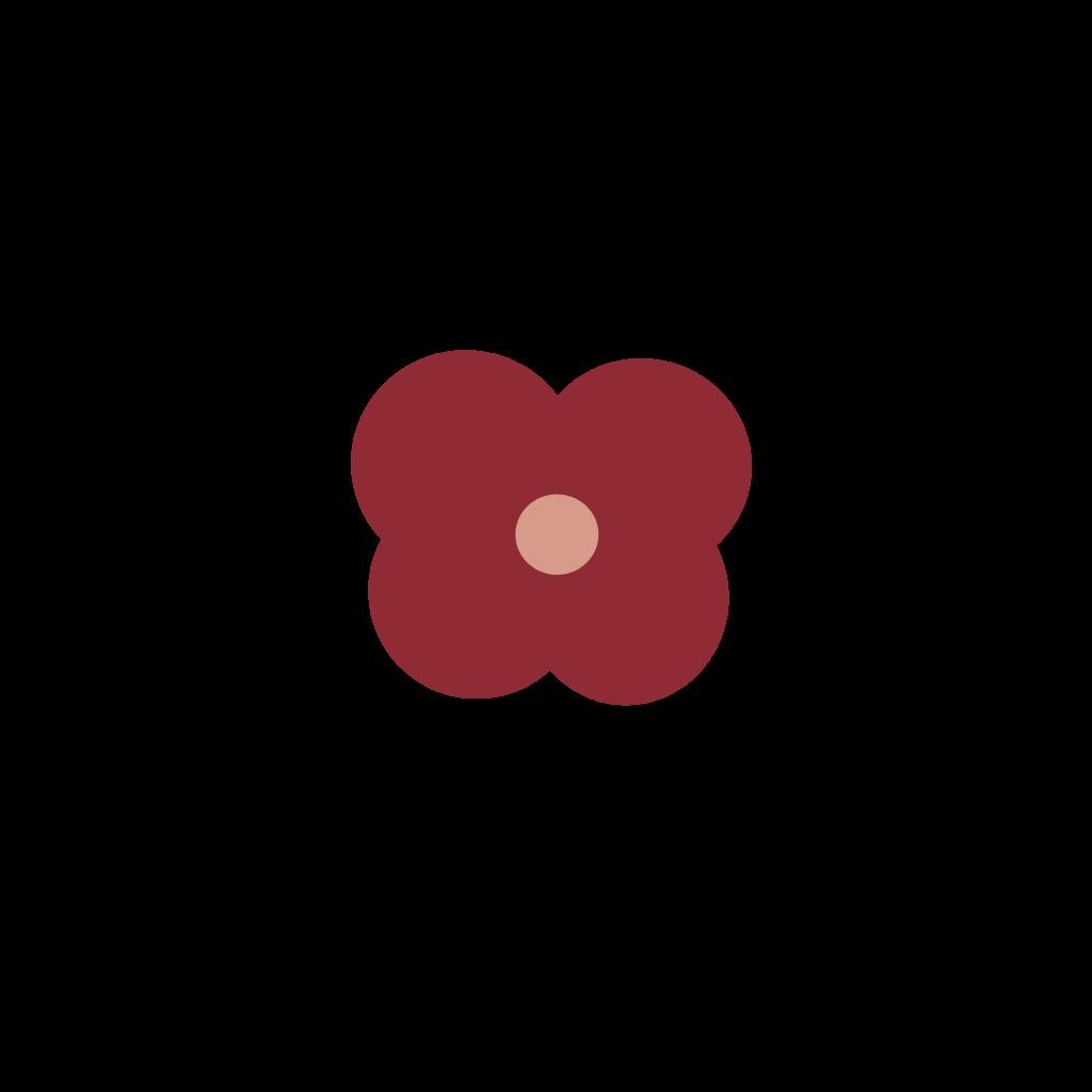 flower cute 90's - Sticker by kenika15094