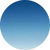 Blue Gradient Circle Aesthetic Background Paste