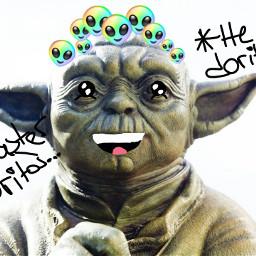 freetoedit lol yoda starwars doritos srcaliencrown