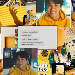 editswithbts aesthetic yellow jhopeedit junghoseok