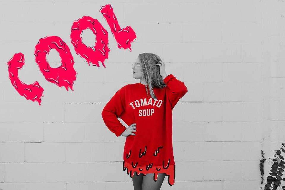 #freetoedit #girl #tumblr #tumblrgirl #red #cool #grimeart