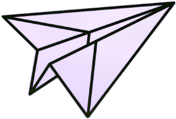 airplane paper aesthetic light purple freetoedit