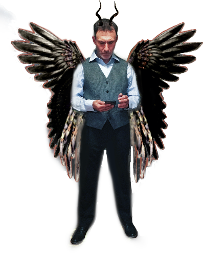 #angel #demon #devil  #freetoedit