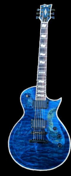 guitar music blue mayones eclipse freetoedit