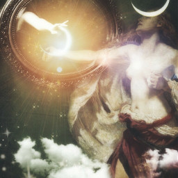 art moon fairy connection inthemirror