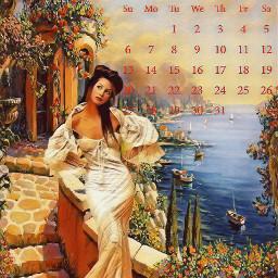 freetoedit beautiful multicolored calendar month ircmaycalendar