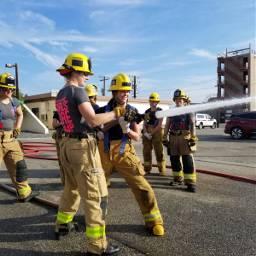pcworkinghard workinghard firefighter training