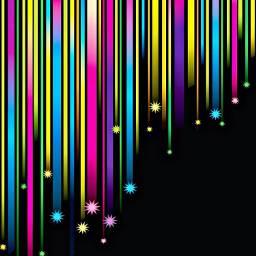 freetoedit art shootingstars neon bright
