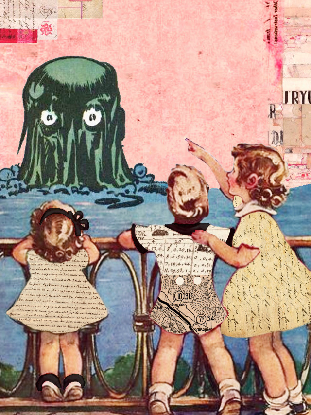 #swampthing #monster #children