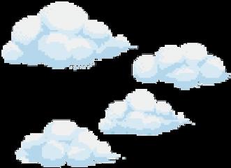 clouds aesthetic japanese cute blue freetoedit