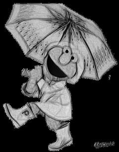 pencil pencilart cartoon frog umbrella fte ftestickers freetoedit