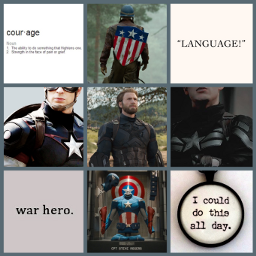 cap captainamerica steverogers shield avenger freetoedit