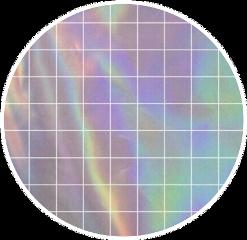 holographic pink purple circle white freetoedit