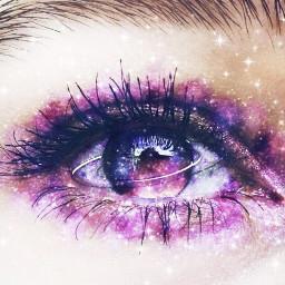 galaxy makeup galaxymakeup orbit freetoedit