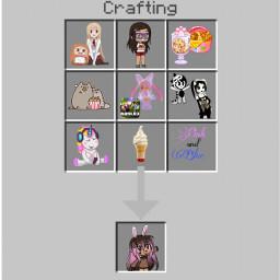 minecraft crafting oc me favoritethings freetoedit