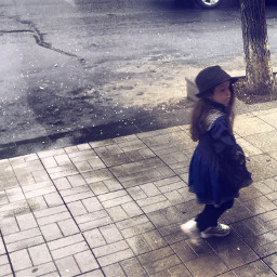 freetoedit art child girl travel