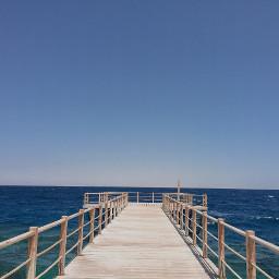 freetoedit perspective symmetry photography sea pcemptyplace pcshadesofblue pcminimalism