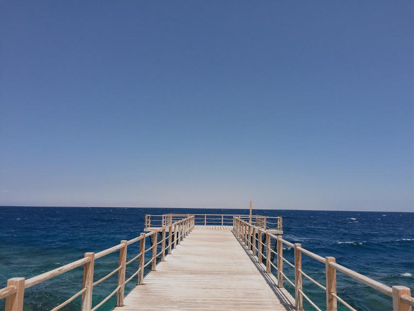 #freetoedit #perspective #symmetry #photography #sea #summer #yellow #blue #pcemptyplace #pcshadesofblue #pcminimalism
