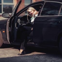 jaguar car retrocar ontheroad reflection