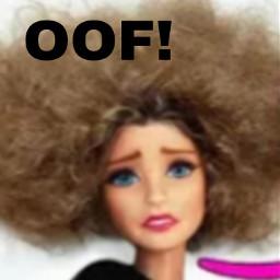 afro weird barbie doll barbiedoll