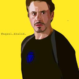 ironman tonystark avengers endgame illustration