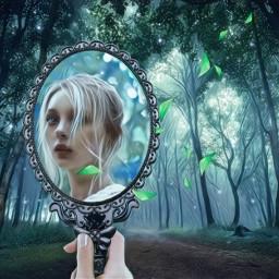 freetoedit riflesso reflection mirror girl ircmirror