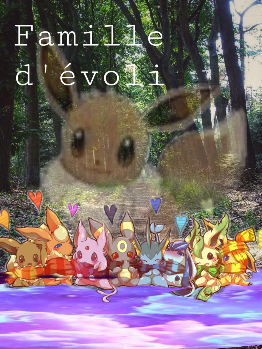 Famille Family Evoli Pokemon Image By Horse10