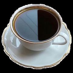 tea aesthetic cute gold plate freetoedit